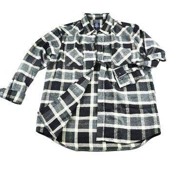 Black And Grey Checked Shirt
