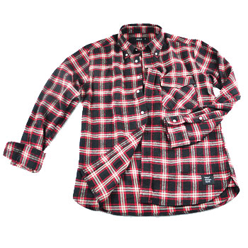 Black and Red Checked Shirt