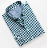 Slim-fit Gingham Check Shirt