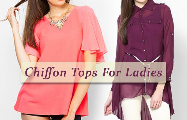Chiffon Tops For Women