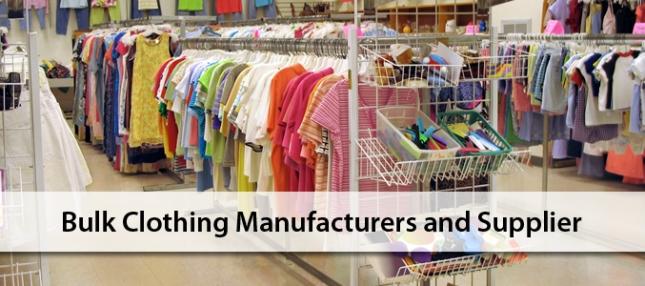 Bulk Clothing Manufacturer