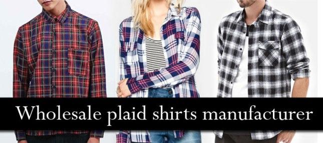 wholesale-plaid-shirts-manufacturer