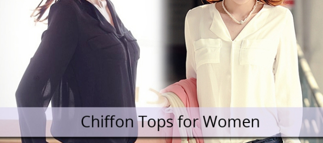 Chiffon top supplier