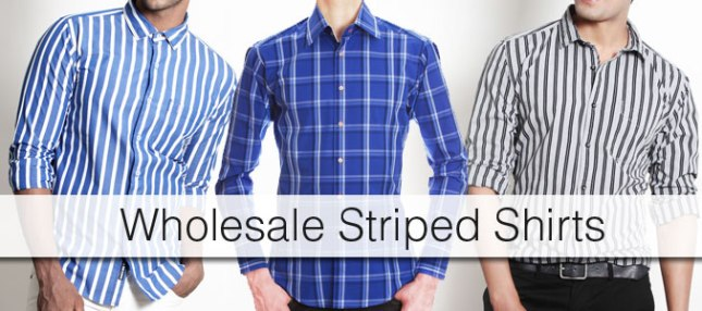wholesale-striped-shirt