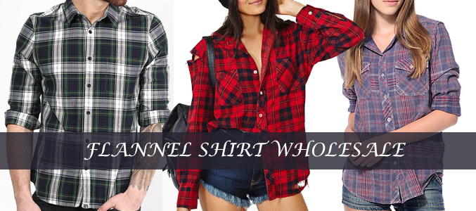 mens and womens flannel shirts supplier
