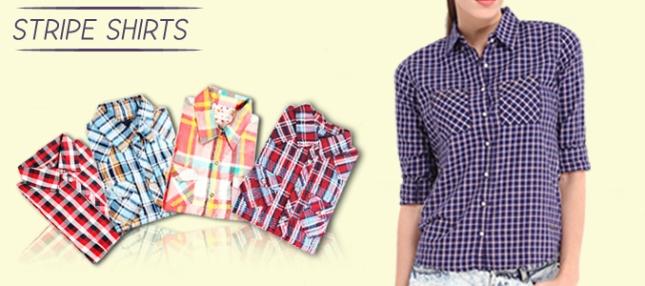striped shirts supplier
